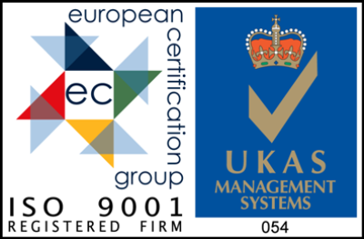MJ Fire Safety are ISO 9001 approved for fire protection services
