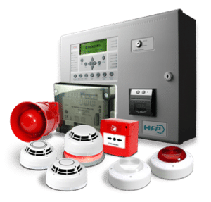 Fire Alarm Systems – Control panel and devices